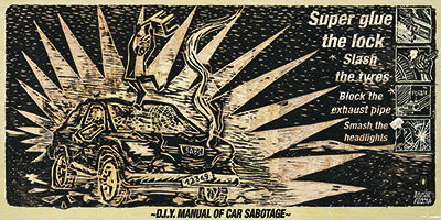 D.I.Y Manual Of Car Sabotage
